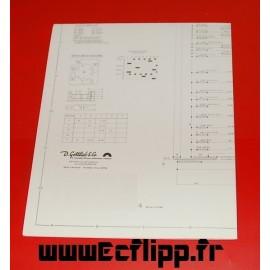 Schematic for pinball Gottlieb 300