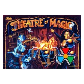 ColorDMD LCD Replacement for  Theatre of Magic pinball