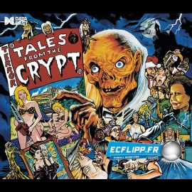 Acrylic Backglass tales from the crypt