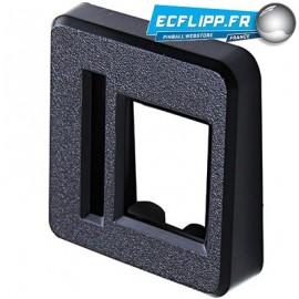 Entry bezel plastic for STERN coin doors