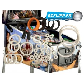 Rubber kit for The wizard of oz ( WOZ LE , Std ) Jersey Jack Pinball